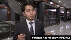 Мадияр Райымқұлов, Назарбаев университетінің студенті. Астана, 2 қараша 2015 жыл