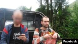 Marius Balo, în 2011, în Indonezia.