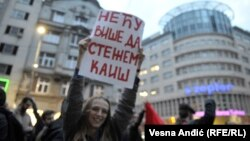 Protest u Beogradu, 5. aprila