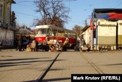 Донецк, уличный рынок