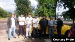 Таксиронҳои тоҷик дар Маскав