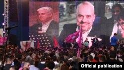 Изборна кампања на Социјалистичка партија (ПС) на Еди Рама.