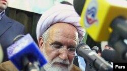 مهدی کروبی، دبيرکل حزب اعتماد ملی. (عکس: فارس)