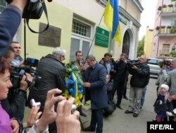 Урочистості, присвячені 150-річчю від дня народження Михайла Грушевського. Холм, 26 вересня 2016 року