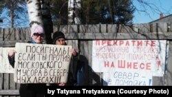 Пикет Антонины Першуковой
