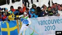 Олимпийский чемпион Ванкувера, шведский лыжник Маркус Хеллнер