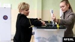Sa jednog od glasanja na Kosovu
