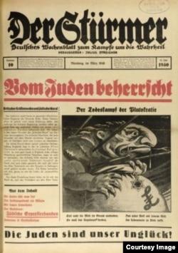 Publicația nazistă Der Stürmer