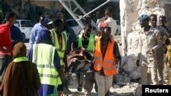 په سومالیا کې د چاودنې ځای.