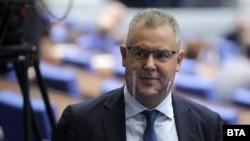 Новият председател на ЦИК Александър Андреев