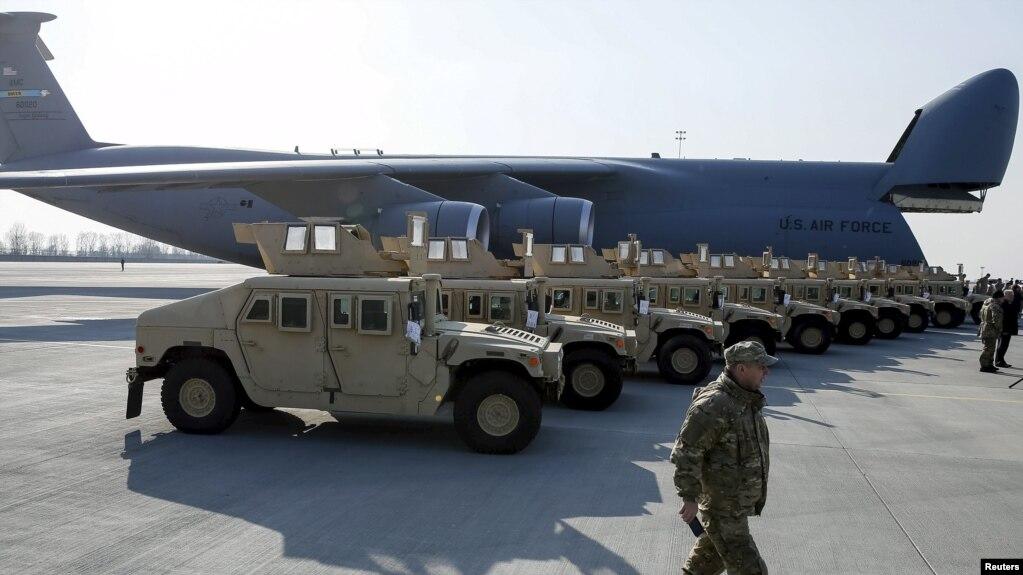 АҚШ Украинаға 250 млн долларға әскери көмек жібереді