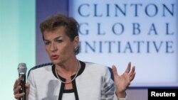 . Исполнительный секретарь Рамочной конвенции ООН по изменению климата Кристиана Фигерес