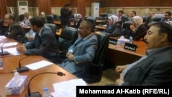 مجلس محافظة نينوى في احدى جلساته
