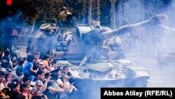 Bakıda hərbi parad - 2013