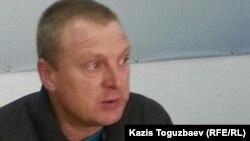Сергей Соляник, консультант экологической правозащитной организации Crude Accountability. Алматы, 17 ноября 2015 года.