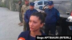 Sərbəst buraxılan jurnalist Bela Zakaidze