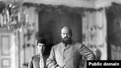 Императрица Мария Федоровна и Александр III