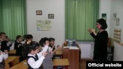 Georgia -- Lesson in School No 51 in Tbilisi, undated