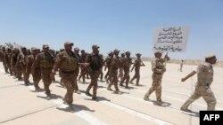 Отряд добровольцев из иракских суннитов. Иллюсративное фото.