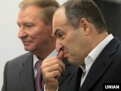 Екс-президент України Леонід Кучма (ліворуч) і його зять, олігарх Віктор Пінчук (архівне фото)