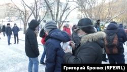 Акция в Новосибирске