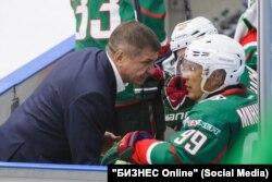 Равиль Шавалеев (слева) и Рустам Минниханов (справа)