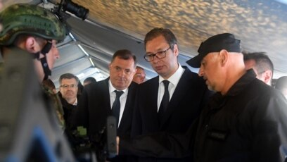 Vojna vežba u Krajevu.