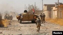 Ирачките сили за време на борбите против ИД во Тал Афар.