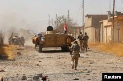 Ирак армиясынын Талл-Афар шаарын жоочулардан бошотуу учуру. 24-август, 2017-жыл