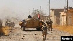 Forcat irakiane gjatë depërtimit në qytetin Tal Afar