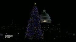 """К зданию Капитолия в Вашингтоне привезли """"главную елку США"""""""