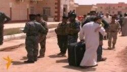 أسر عراقية نازحة تعود من سوريا
