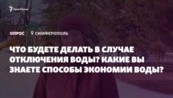«Помыть посуду в чашечке и вылить». Советы крымчан по экономии воды (видео)