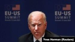 جو بایدن رئیس جمهوری ایالات متحده امریکا