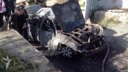 В Симферополе взорвался автомобиль