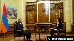 Пресс-конференция премьер-министра Армении Никола Пашиняна в режиме онлайн, Ереван, 16 ноября 2020 г.