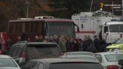 Тіла жертв авіакатастрофи літака А321 привезли до Росії (відео)