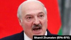 Александр Лукашенко на пресс-конференции 9 сентября 2021 г.