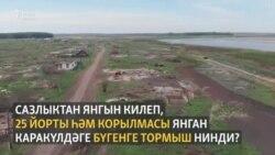 Себердә бер ай элек янган татар авылына хакимияттән ярдәм күренми