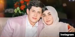 Отабек Умаров с матерью Гузаль Умаровой.