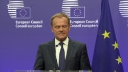 Tusk Says EU 'Determined To Keep Our Unity' Following Brexit Vote