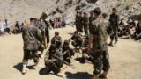 Afghanistan - anti-Taliban militias training in Afghanistan's Panjshir Valley - for video about Tajik volunteers - screen grab - AFP