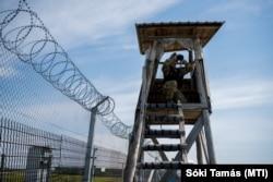 Határzár a magyar-szerb határon