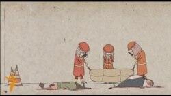 Hytaýly studentiň animasiýa filmi
