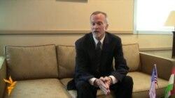 Кен Гросс дал интервью радио Озоди