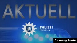 Poliţia din Hamburg pe Twitter