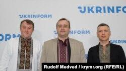 Андрей Щекун, Андрей Иванец и Сергей Мокренюк