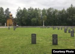 Британское кладбище в Архангельске