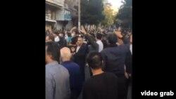 Manifestație în sprijinul Azerbaidjanului