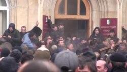 Protestele opoziției din regiunea separatistă a Georgiei, Abhazia, au dus la anularea alegerilor prezidențiale